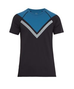 EVERY SECOND COUNTS | Max Effort Chevron-Stripe Performance T-Shirt