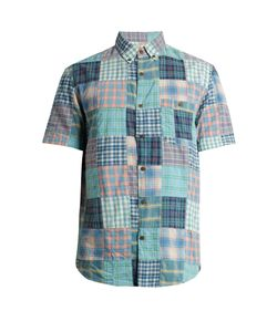 Faherty   Coast Cotton Patchwork Shirt