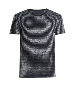 ATM | Crew-Neck Striped Cotton-Jersey T-Shirt
