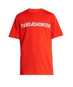 OAMC | Pandaemonium-Print Cotton T-Shirt