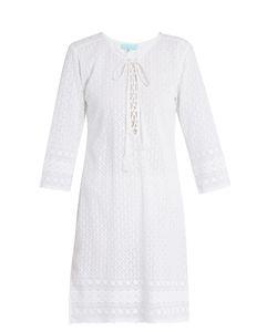 Melissa Odabash | Bella Embroidered Georgette Dress