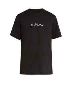 OAMC | Beezlebub Snake-Print T-Shirt