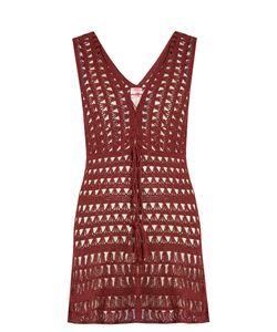 ANNA KOSTUROVA | Marissa Crochet Mini Dress
