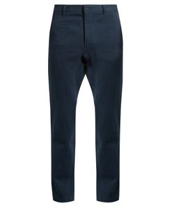 Fanmail | Hemp And Cotton-Blend Drill Straight-Leg Trousers