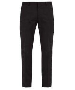 Paul Smith | Slim-Fit Cotton-Blend Gabardine Trousers