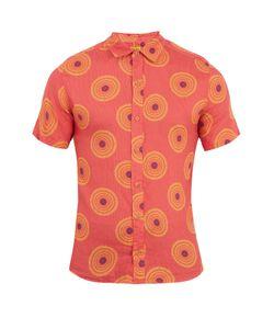 Okun | Sankara Circle-Print Linen Shirt
