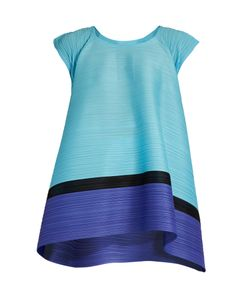 PLEATS PLEASE BY ISSEY MIYAKE | Spinning Bounce Capped-Sleeve Pleated Top