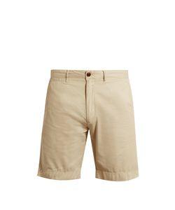 Faherty   Harbor Cotton-Blend Gabardine Shorts