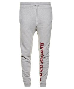 VETEMENTS | Gun Club-Print Cotton-Blend Jersey Track Pants