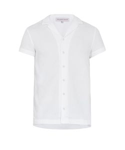 Orlebar Brown   Travis French Terry-Towelling Short-Sleeved Shirt