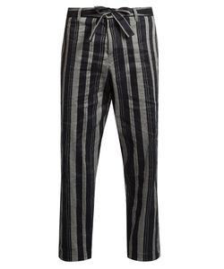 Tomorrowland | Drawstring Straight-Leg Trousers