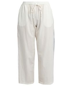 Mes Demoiselles | Popeye Cropped Cotton-Voile Trousers