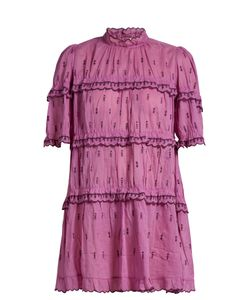 Isabel Marant Étoile   Lyin Ruffle-Trimmed Tiered Mini Dress