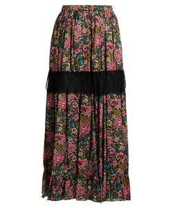 No. 21 | -Print Cotton Skirt