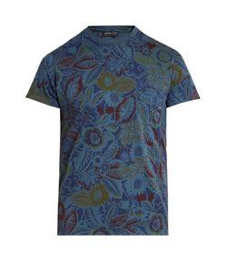 Etro   -Print Cotton T-Shirt