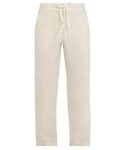 120% Lino | Straight-Leg Linen Trousers