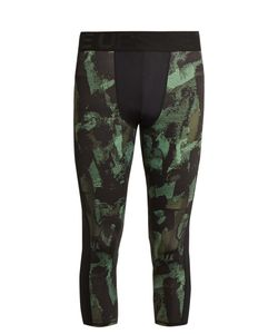 THE UPSIDE | Sketchy Camouflage-Print Performance Leggings