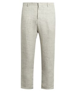 HELBERS | Flat-Front Straight-Leg Trousers