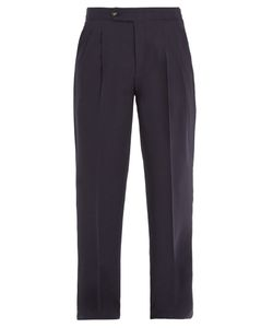 Éditions M.R | High-Rise Wool Trousers