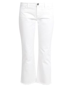 Weekend Max Mara | Mid-Rise Straight-Leg Cropped Jeans
