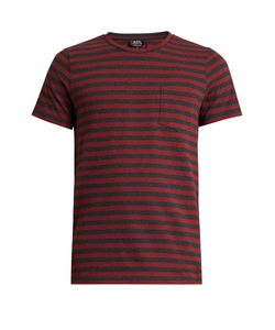 A.P.C. | Crew-Neck Striped-Jersey T-Shirt