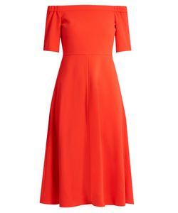 Tibi | Off-The-Shoulder Crepe Dress