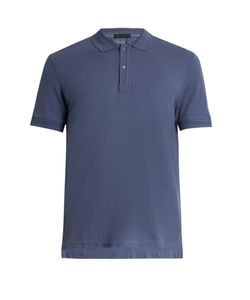 ATM | Slim-Fit Cotton-Piqué Polo Shirt