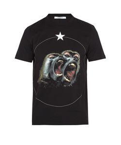 Givenchy | Cuban-Fit Screaming Monkey-Print T-Shirt