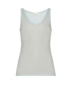 Skin | Scoop-Neck Cotton Pyjama Tank Top