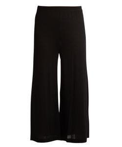 Le Kasha | Thane Cropped Wide-Leg Cashmere Track Pants