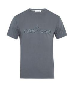 Stone Island | Logo-Print Cotton-Jersey T-Shirt