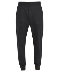 Wooyoungmi | Tapered-Leg Stretch-Wool Track Pants