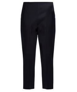 The Row | Nowa Stretch-Cotton Cropped Trousers