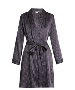 Derek Rose | Brindisi Silk-Satin Robe