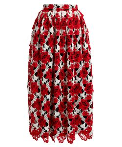 House Of Holland | -Lace Midi Skirt
