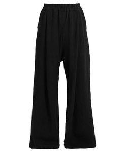 BY WALID | Wide-Leg Linen Trousers