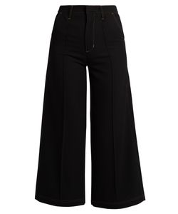 WALES BONNER | Reed High-Rise Wool Culottes