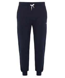 Maison Kitsune | Logo-Appliqué Cotton Track Pants