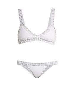 KIINI | Valentine Crochet-Trimmed Triangle Bikini