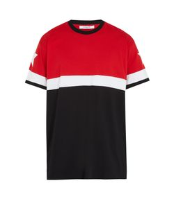 Givenchy | Columbian-Fit Star-Embroidered T-Shirt