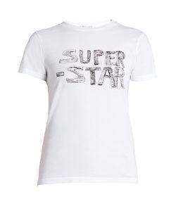 Bella Freud | Super Star-Print Cotton-Jersey T-Shirt