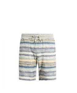Faherty | Multi-Striped Cotton Shorts