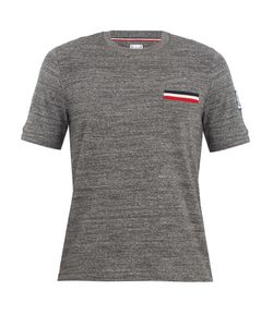 Moncler Gamme Bleu | Patch-Pocket Cotton T-Shirt