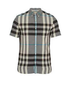 Burberry | Moore House-Check Cotton Shirt