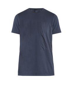 HELBERS | Muslin Panel Cotton T-Shirt