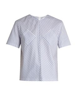 J.W. Anderson | Striped Cotton Top
