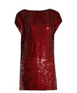 Ashish | Cowl-Back Sequin-Embellished Mini Dress