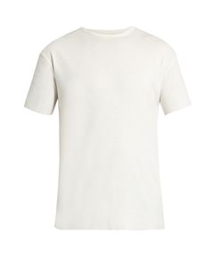 RAEY | Raw-Edge Cotton T-Shirt