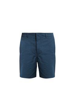 Fanmail | Contrast-Panel Slim-Fit Cotton Shorts
