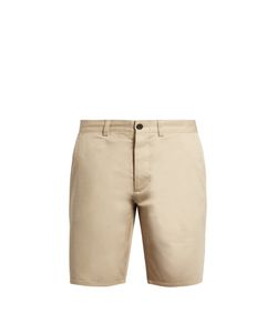 Maison Kitsune | Slim-Leg Cotton Chino Shorts
